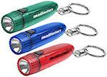 Cylinder Light Keychains